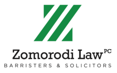 Zomorodi Law Professional Corporation, Barristers & Solicitors Logo